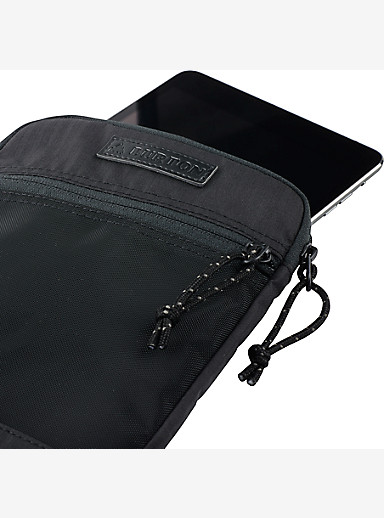 Burton Hyperlink 7in Mini Tablet Sleeve shown in True Black Triple Ripstop