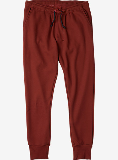 Analog Sentry Fleece Pant shown in Oxblood