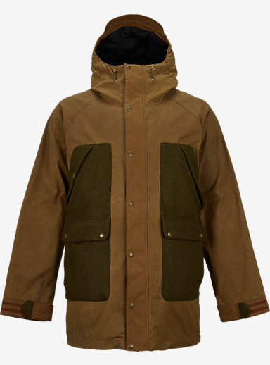 Filson® x Burton Vagabond Jacket shown in Tan / Forest Green