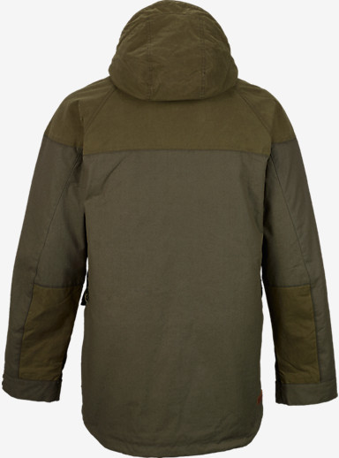Filson® x Burton Frontier Jacket shown in Olive / Otter Green