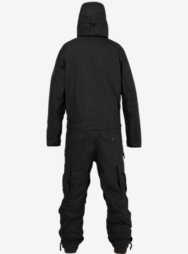 UNDEFEATED x Alpha Industries x Burton Flight Suit shown in Black Ops
