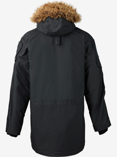 UNDEFEATED x Alpha Industries x Burton N-3B Parka shown in Black Ops
