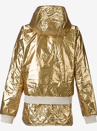 L.A.M.B. x Burton Cherry Bomber Jacket shown in Gold