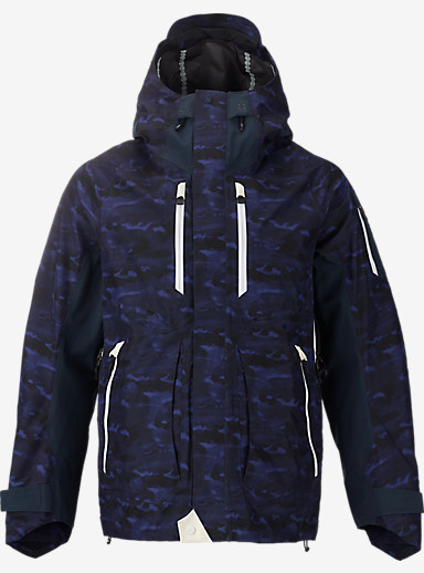 BURTON THIRTEEN Pixton Jacket shown in Cloud Camo