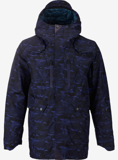 BURTON THIRTEEN Rittenhouse Jacket shown in Cloud Camo