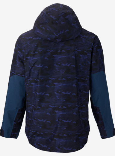 BURTON THIRTEEN Briganti Jacket shown in Cloud Camo