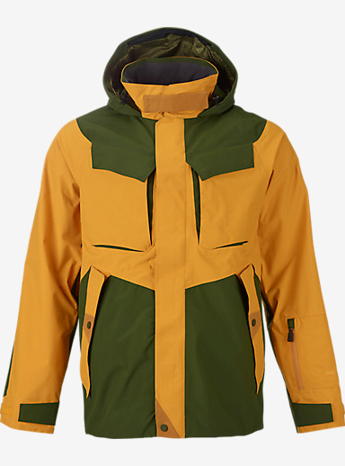 BURTON THIRTEEN Briganti Jacket shown in Dark Green