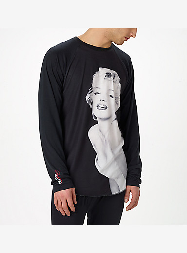 Marilyn x Burton Roadie Tech Tee shown in Marilyn Monroe