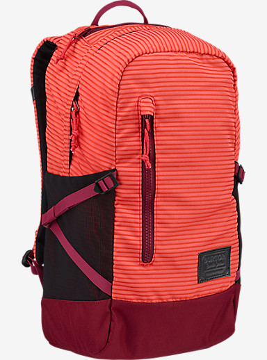 Burton Women's Prospect Backpack shown in Coral Crinkle [bluesign® Approved]
