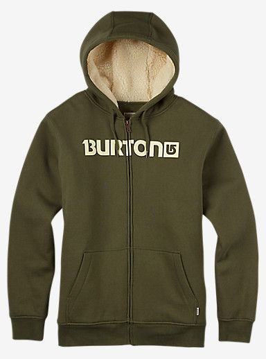 Burton Fireside Full-Zip Hoodie shown in Keef