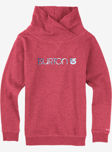 Burton Her Logo Mockneck Pullover shown in Tropic