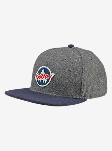 Burton Home Team Hat shown in Eclipse