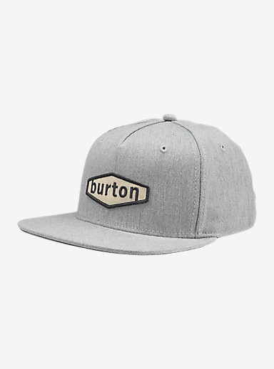Burton Hardgoods Hat shown in Monument Heather