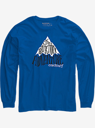 Burton Boys' Adventure Co Long Sleeve T Shirt shown in Web