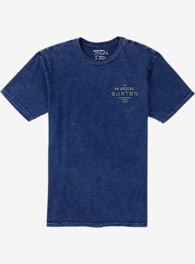 Burton The Original Slim Fit Short Sleeve T Shirt shown in Indigo [Vintage Wash]