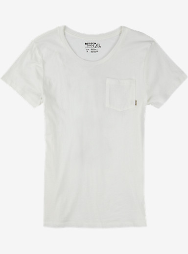 Burton Kendal Short Sleeve Pocket T Shirt shown in Stout White