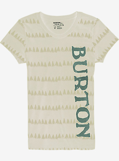 Burton Allagash Short Sleeve T Shirt shown in Vanilla