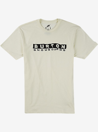 Burton Carson Recycled Slim Fit T Shirt shown in Vanilla Heather