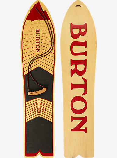 Burton The Throwback Snowboard shown in 130