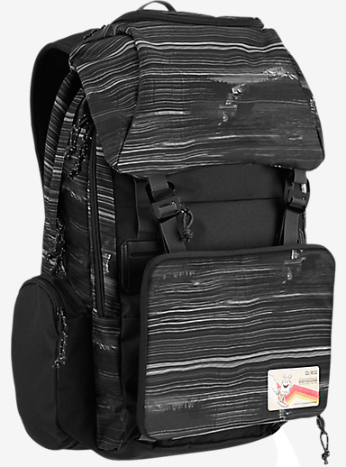HCSC x Burton Shred Scout Backpack shown in HCSC Scout Dark Bright