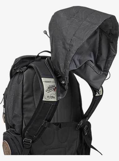 HCSC Shred Scout Backpack shown in Topo Teal
