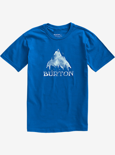 Burton Stamped Mountain Short Sleeve T Shirt shown in Web