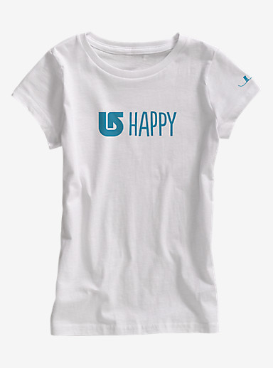 Burton Happy Short Sleeve Crew shown in Stout White