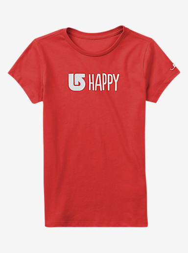 Burton Happy Short Sleeve Crew shown in Coral Heather