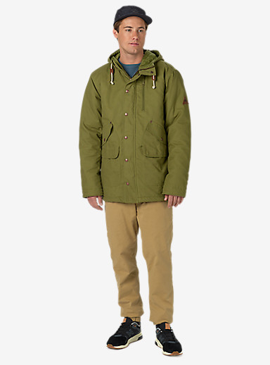 Burton Sherman Jacket shown in Olive Branch