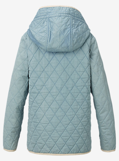 Burton Girl's Gemmi Jacket shown in Indigo Herringbone