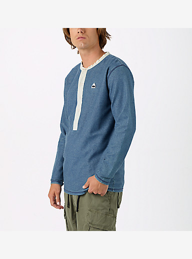 Burton Sinclair Henley shown in Indigo