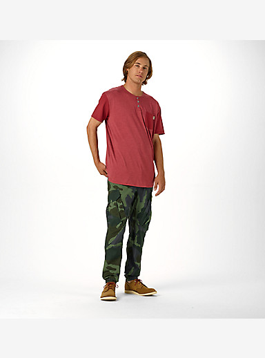 Burton Ginkgo Pant shown in Beetle Derby Camo
