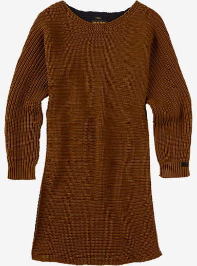 Burton Camden Sweater shown in Java Heather