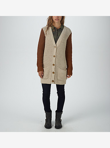 Burton Seyon Sweater shown in Canvas Heather