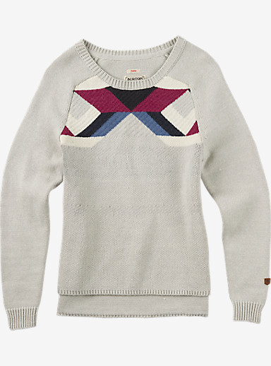 Burton Allis Sweater shown in Dove Heather