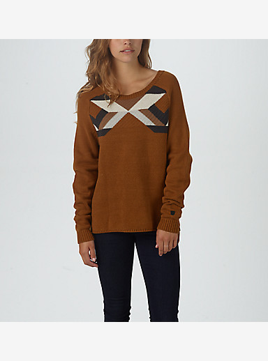 Burton Allis Sweater shown in Java Heather