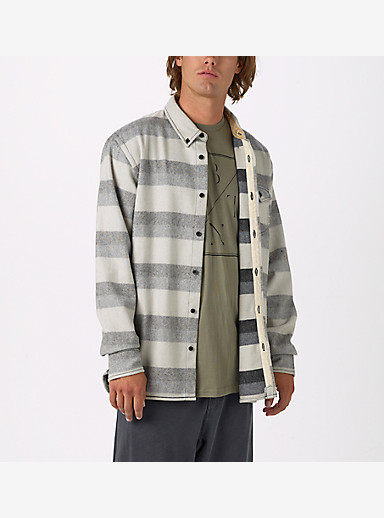 Burton Farrel Wool Long Sleeve Woven shown in Monotone Fade