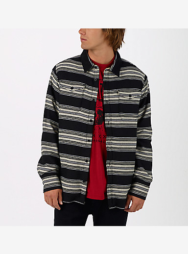 Burton Cole Sherpa Woven shown in True Black Kingdom Stripe