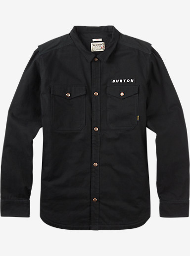 Burton Vantage Long Sleeve Shirt shown in True Black