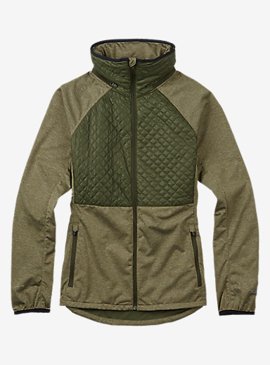 Burton Concept Softshell shown in Keef Heather