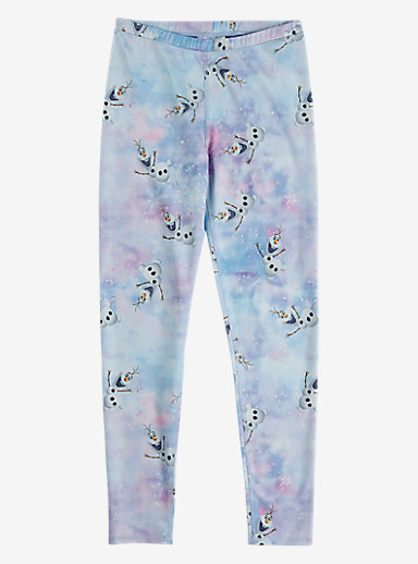 Disney Frozen Girls' Legging shown in Olaf Print © Disney