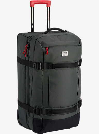 Burton Convoy Roller Travel Bag shown in Blotto [bluesign® Approved Fabric]