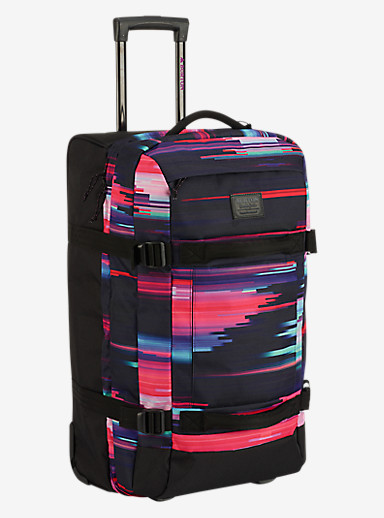Burton Convoy Roller Travel Bag shown in Glitch Print