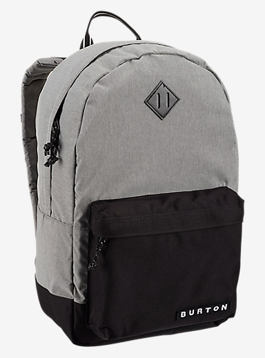 Burton Kettle Backpack shown in Grey Heather