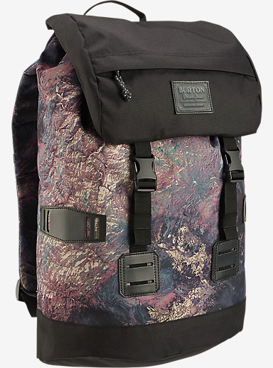 Burton Tinder Backpack shown in Earth Print