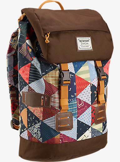 Burton Tinder Backpack shown in Kalidaquilt