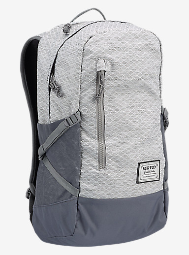 Burton Prospect Backpack shown in Grey Heather Diamond Ripstop