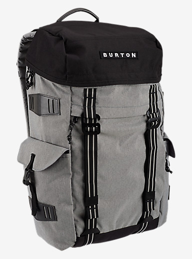 Burton Annex Backpack shown in Grey Heather