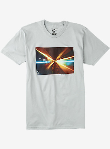 Analog PLA Light Speed Short Sleeve T Shirt shown in New Silver
