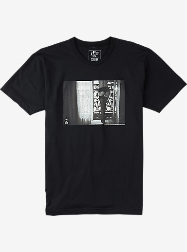 Analog PLA Room With A View Short Sleeve T Shirt shown in Black